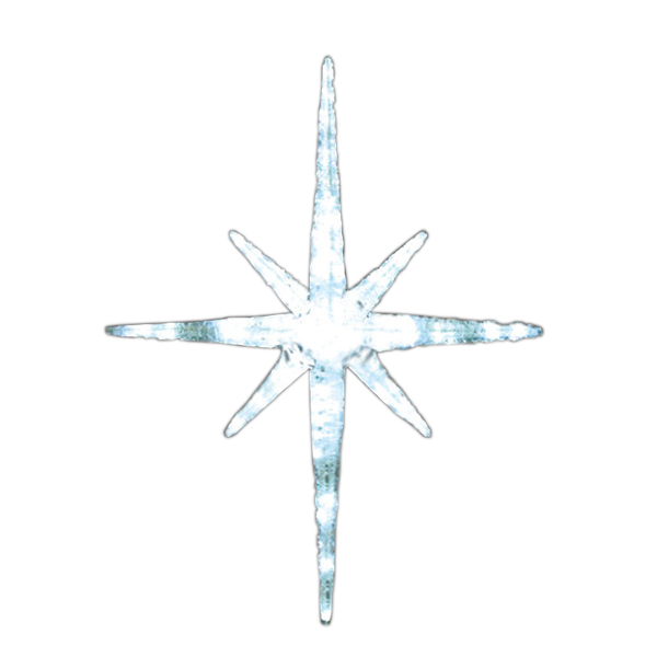 LEDクリスタルグロー スノーフレーク ALMS-100W ホワイト(選べるカラー) 【要在庫確認】