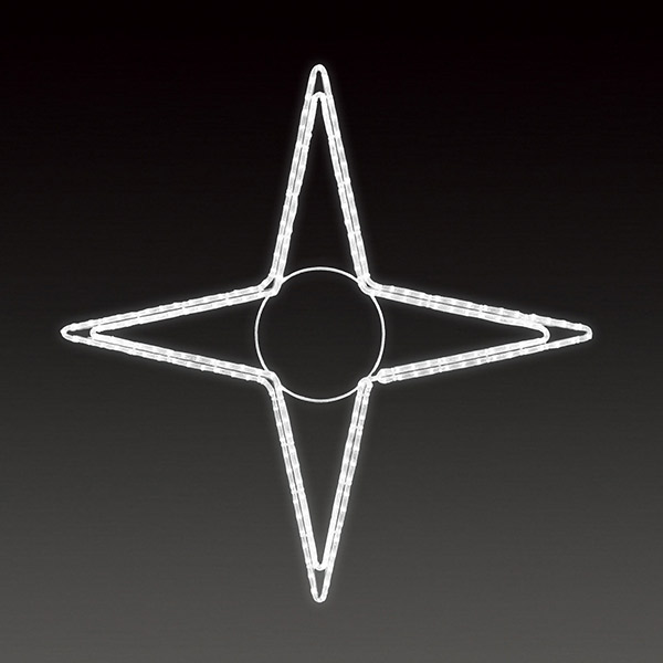 LEDロープライト テトラスターB(大) ALRM-ST-TRBL 5ヶセット 一体型 常時点灯 防雨仕様 100V 【要在庫確認】