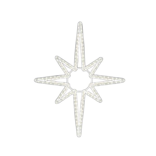 LEDロープライト ブライトスターA(大) ALRM-ST-BTAL 5ヶセット 一体型 常時点灯 防雨仕様 100V 【要在庫確認】