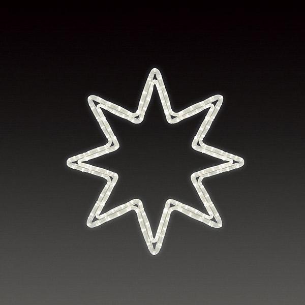 LEDロープライト オクタスターA(小) ALRM-ST-OTAS 5ヶセット 一体型 常時点灯 防雨仕様 100V 【要在庫確認】