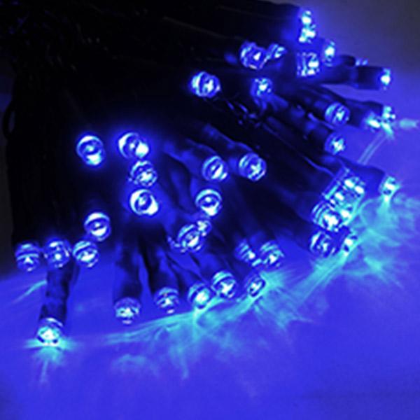 ブライト LEDストリングライト ブルー ALBR-100BB ブラック(選べるコード) 40ヶセット 屋内仕様 100V 【要在庫確認】
