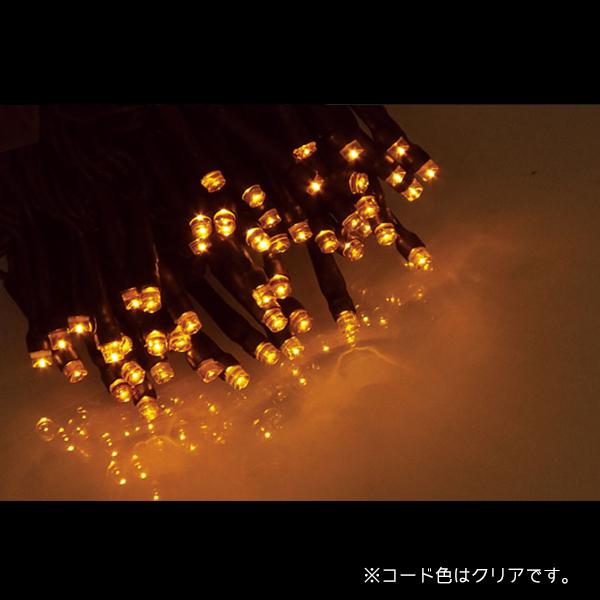 エクセレント LEDストリングライト コードクリア ALEX-100AC アンバー (選べるカラー) 20ヶセット【要在庫確認】