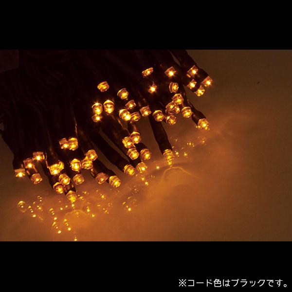 エクセレント LEDストリングライト コードブラック ALEX-100AB アンバー (選べるカラー) 20ヶセット【要在庫確認】