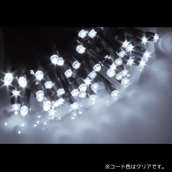 プレミアムスリム LEDストリングライト コードクリア ALPS-100WC ホワイト (選べるカラー) 40ヶセット【要在庫確認】