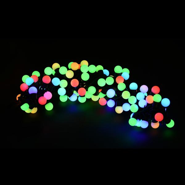 LEDグローブストリングライト17Φ ALGB-100RGBB 12台セット IP65VSS 防雨仕様 100V 【要在庫確認】 RGB