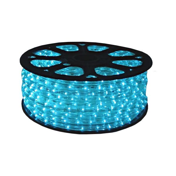 LED ロープライト 40m巻 スカイブルー ALRL-40SB IP65VSN 防雨仕様 100V 【要在庫確認】