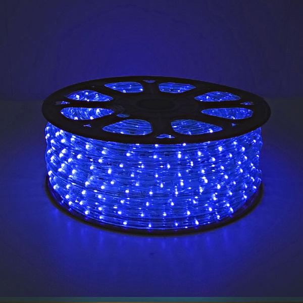 LED ロープライト 40m巻 ブルー ALRL-40B IP65VSN 防雨仕様 100V 【要在庫確認】
