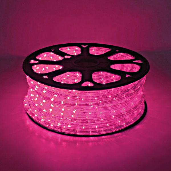 LED ロープライト 40m巻 ピンク ALRL-40P IP65VSN 防雨仕様 100V 【要在庫確認】