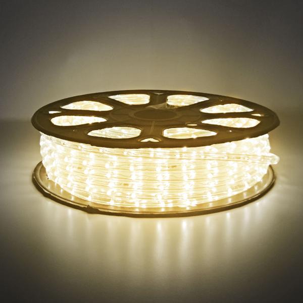 LED ロープライトスリム 40m巻 ウォームホワイト ALRL-2W-40WW IP65VSN 防雨仕様 100V 【要在庫確認】