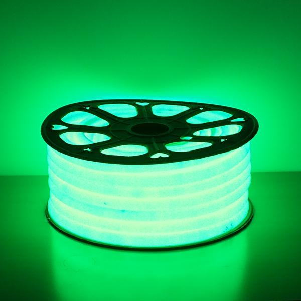 LED フレキシネオンロープライト30m巻 グリーン AFNR-30G 防雨仕様 100V 【要在庫確認】