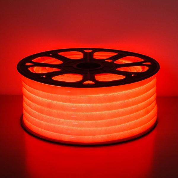 LED フレキシネオンロープライト30m巻 レッド AFNR-30R 防雨仕様 100V 【要在庫確認】