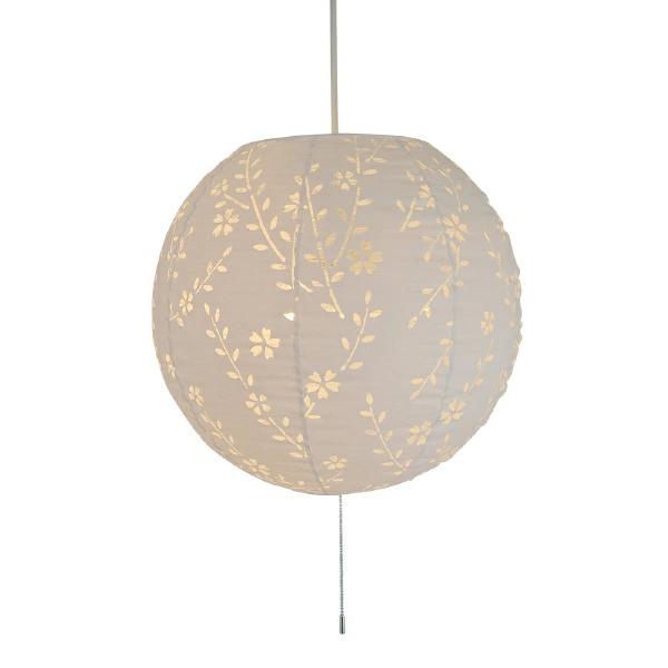 ペンダントライト komorebi しだれ桜 SPN3-1061 和風照明 和室 和紙 おしゃれ 美濃和紙