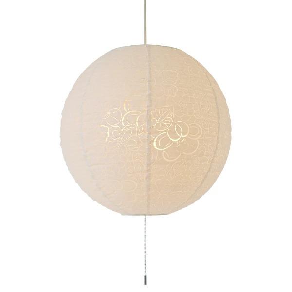 ペンダントライト komorebi 椿 SPN3-1061 和風照明 和室 和紙 おしゃれ 美濃和紙