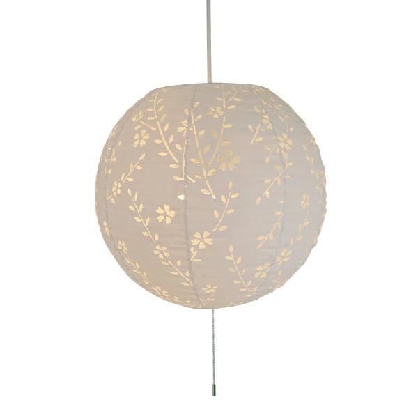 ペンダントライト komorebi しだれ桜 交換用シェード SLP-1061 和風照明 美濃和紙 セードのみ(電球・コード類等はついておりません。)