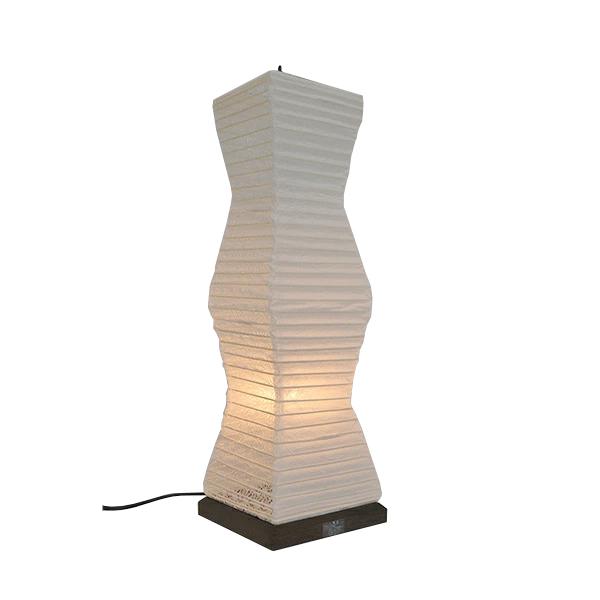 スタンドライト 揉み紙×麻葉白 SS-3080 和風照明 和室 和紙 おしゃれ