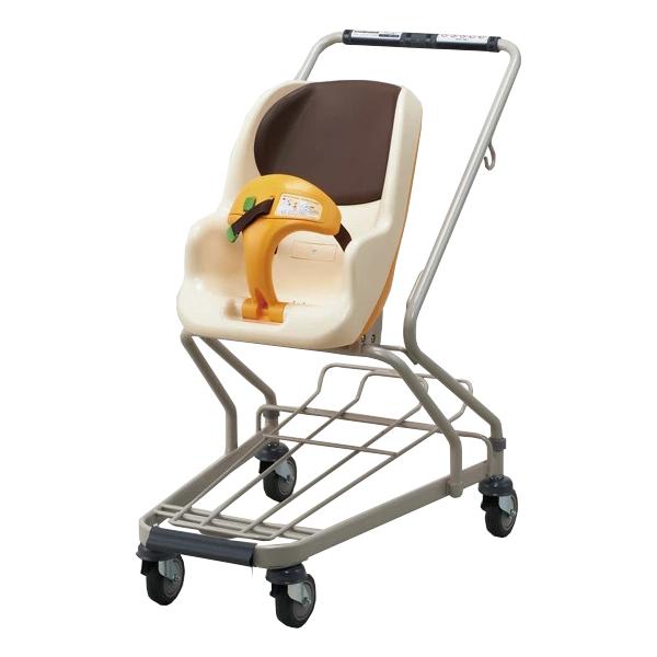 エンジェルワゴン AW36 幼児座席 ショッピングカート マンゴーオレンジ