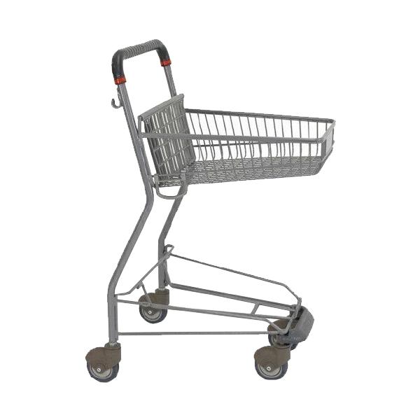 ショッピングカート PVN902PE-C100 キャスターカバー 送料実費 シルバーメタリック