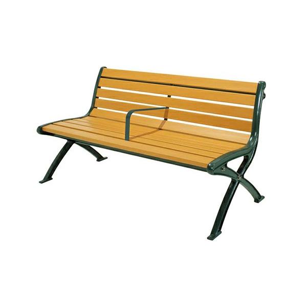 セパレートベンチ SB1-SW・背付 244-0072 施設用 仕切り付き 屋外用