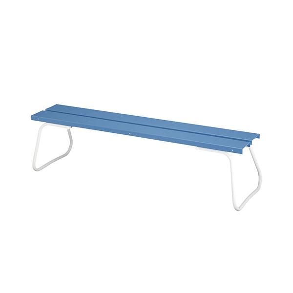 樹脂ベンチ 背なし ECO-NO1500 YB-96L-PC 施設用 屋内外ベンチ