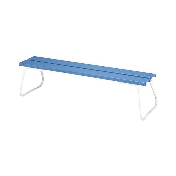 樹脂ベンチ 背なし ECO-NO1800 YB-97L-PC 施設用 屋内外ベンチ