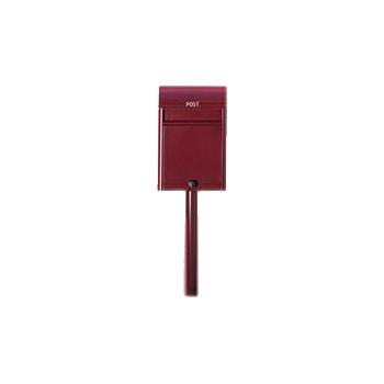 ポレpole(duomo用スタンド) 0280-00632& 郵便ポスト 背面穴塞ぎパネル付属  (選べるカラー)