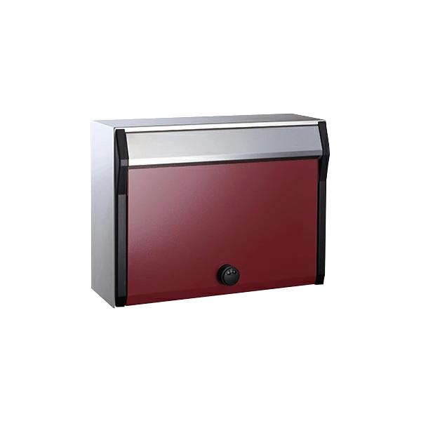villetta(ヴィレッタ)静音ラッチ錠 郵便ポスト 前入前出 防滴 角2封筒対応  (選べるカラー)