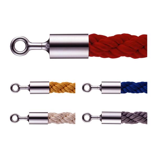 カラーロープ Oフックタイプ 30BC フロアガイドポール用ロープ  (選べるカラー)
