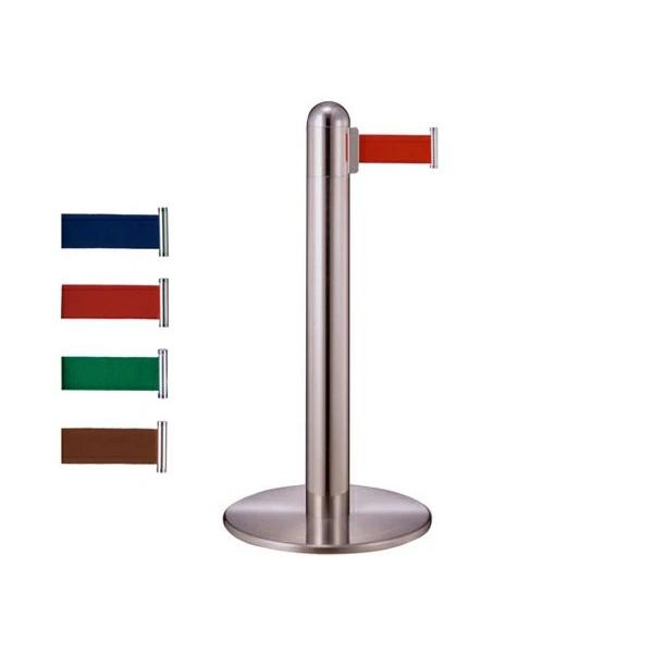 ブラック粉体 Bスタート&キャッチ H930 GY314 1112 フロアガイドポール  (選べる受け位置・ベルトカラー)