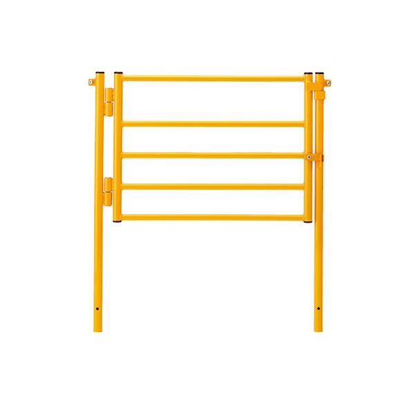 ジョイントフェンス ドアフェンス 870-473 屋内 業務用 工場 柵