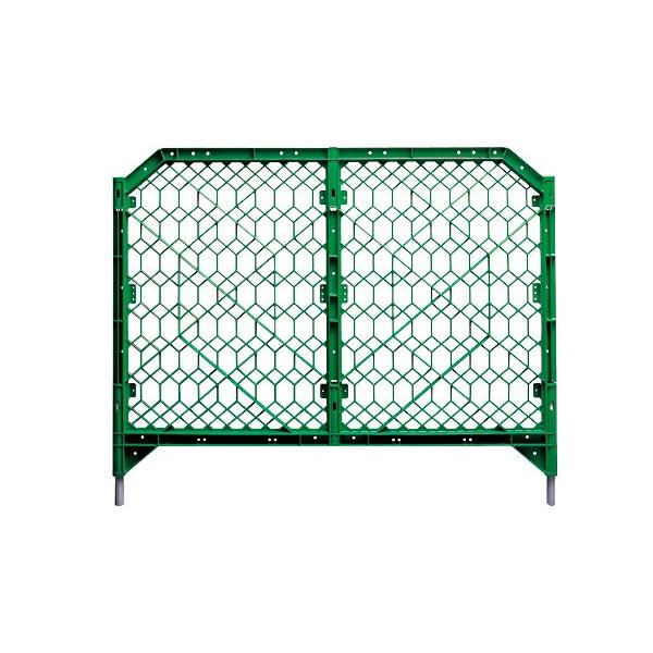 ディックフェンス 本体・脚パイプ付 958-01 公園 パーテーション バリケード(選べるカラー)