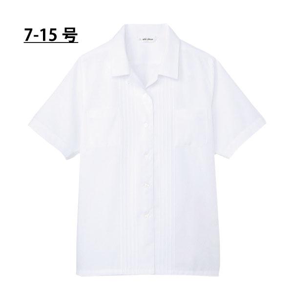 ブラウス 半袖BL406 7号 9号 11号 13号 15号 サイズ選べるサイズOPkuXiTZ