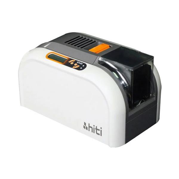 ハイティ カードプリンター本体のみ CS-200e 社員証をその場でキレイに印刷