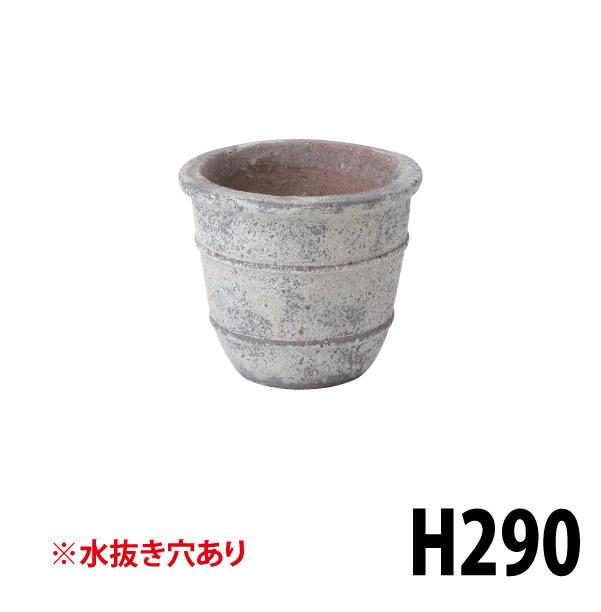 アンティーク調ポット小 36822800 LAM-05S 大型陶器の鉢 トラッド