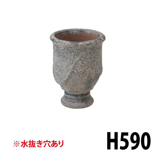 アンティーク調ポット大 36796200 LAM-A03L 大型陶器の鉢 グラシア