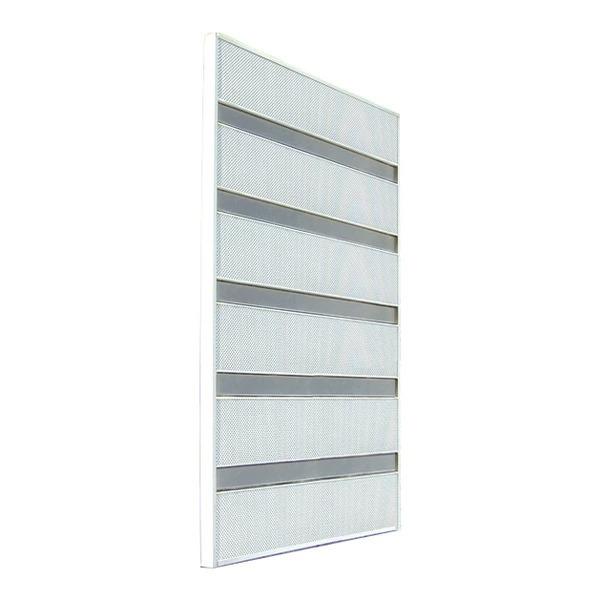 サンシャインウォール W-02 窓の格子に付けるオシャレな目隠し 取り付け簡単!  (選べるカラー)