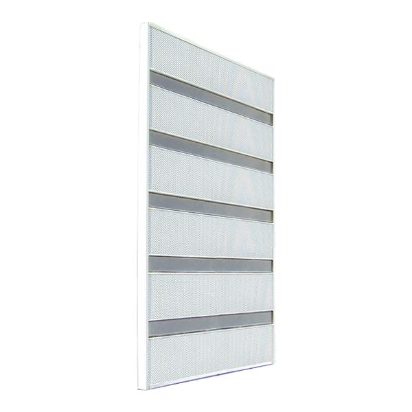 サンシャインウォール W-03 窓の格子に付けるオシャレな目隠し 取り付け簡単!  (選べるカラー)
