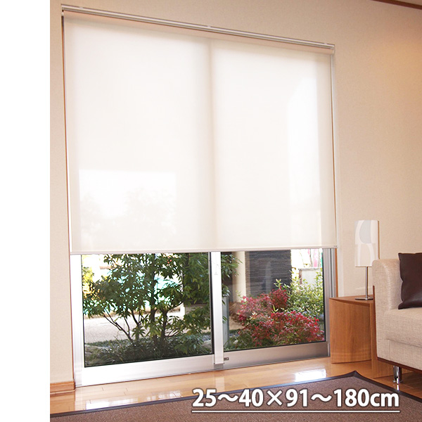 代引き不可 タチカワ TIORIOティオリオ ロールスクリーン無地防炎規格品 巾70×高さ160cm 送料無料