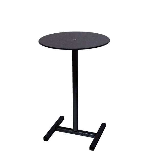 ブラックスマートテーブル H620 BSMTB-H620 展示台 記帳台 什器 サンプル台 個人宅配送不可