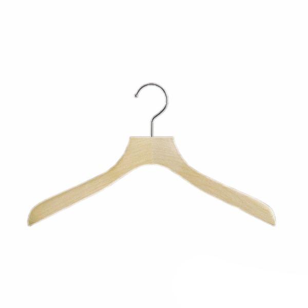 木製ハンガー HA02 10本セット 服が輝く。職人 手磨き仕上げ  (選べるサイズ)