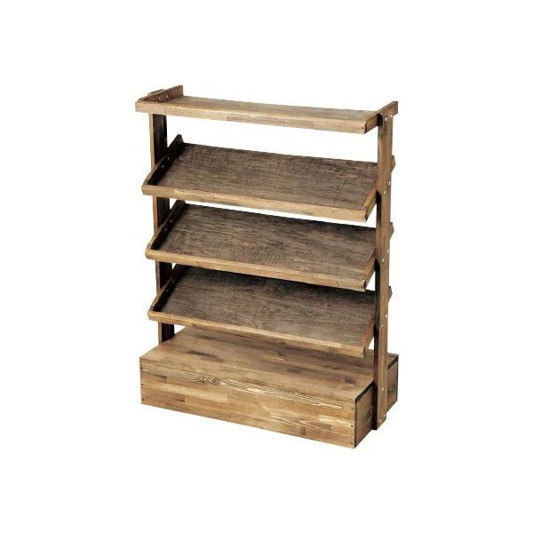 A4カタログスタンド 塗装品 #32013 木製 収納 棚  (選べるカラー)