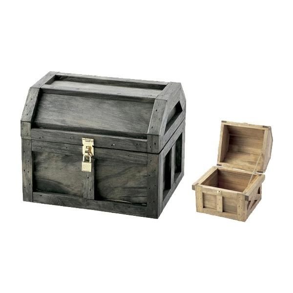 海賊宝箱L #13038 金具は全てゴールド仕様なので高級感もあります。( 選べるカラー)