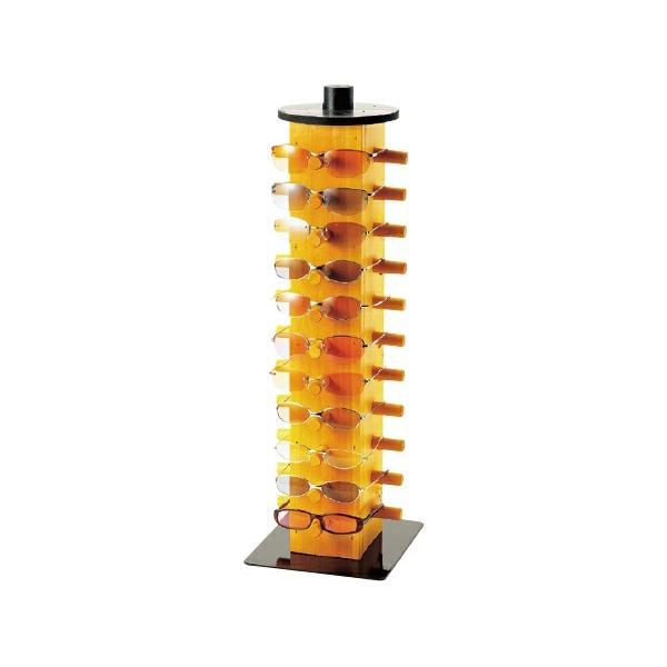 メガネスタンド #920686 木製のあたたかみある什器です。( 選べるカラー)