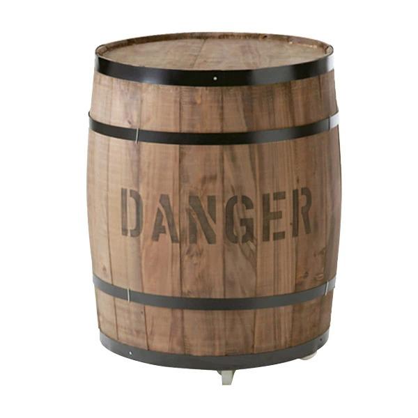 樽(たる)ステージ 茶 大(CP-7)キャスター付き #990171 コーヒー樽を忠実に再現した新品です。