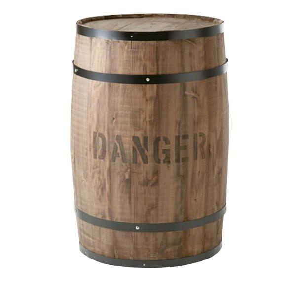 樽(たる)ステージ 茶 特大(CP-8)キャスター無 #990168 コーヒー樽を忠実に再現した新品です。