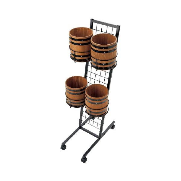 バーレルカート(チビ樽2段セット) #50077 小さいサイズの樽什器
