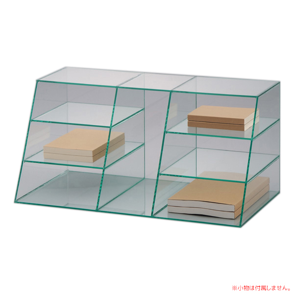 伝票整理棚 アクリル製品  ガラス色