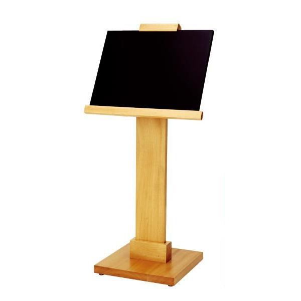 SGM-456 メニュースタンド(木製マーカーボード) 屋内・屋外・片面・角度・折畳 個人宅配送不可