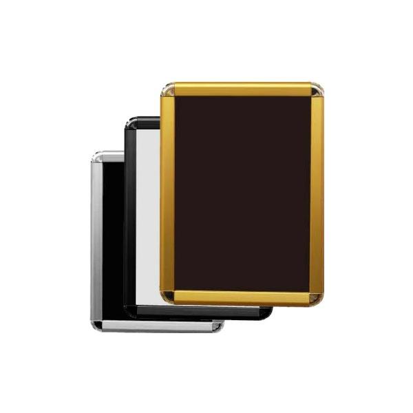 A2 両面用 PG-32R 32mm幅 R型コーナー 要法人名  (選べるフレームカラー)