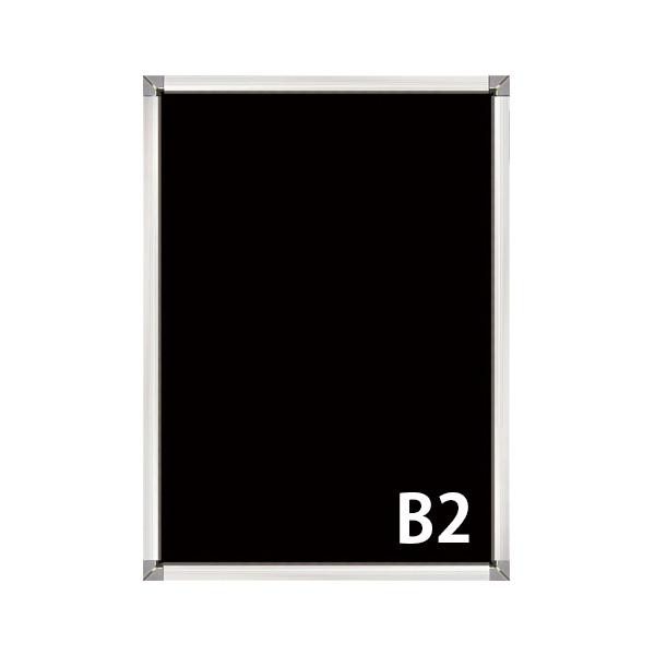 屋外用(非防水) B2 PG-32S 32mm幅 角型コーナー 要法人名  (選べるフレームカラー)
