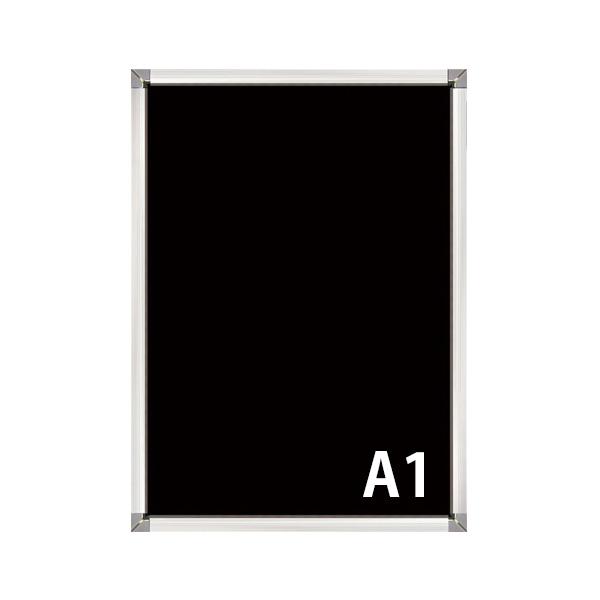 屋外用(非防水) A1 PG-32S 32mm幅 角型コーナー 要法人名  (選べるフレームカラー)